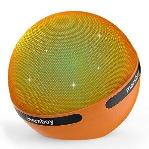 Marsboy Orb Portable Hifi Stereo 7 Kinds of LED Show Wireless Bluetooth Speaker $29.99 & FREE Shipping