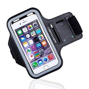 DBPOWER Phone Armband Adjustable Sweat proof Sport Armband Case $6.99 & FREE Shipping