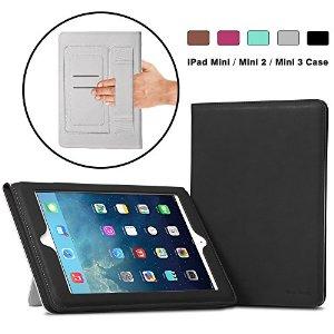 iPad Mini 3 PU Leather Case for $12.99 and iPad Air 2 PU Leather Case for $14.99 After Coupon on Amazon, Free Shipping w/ Amazon Prime