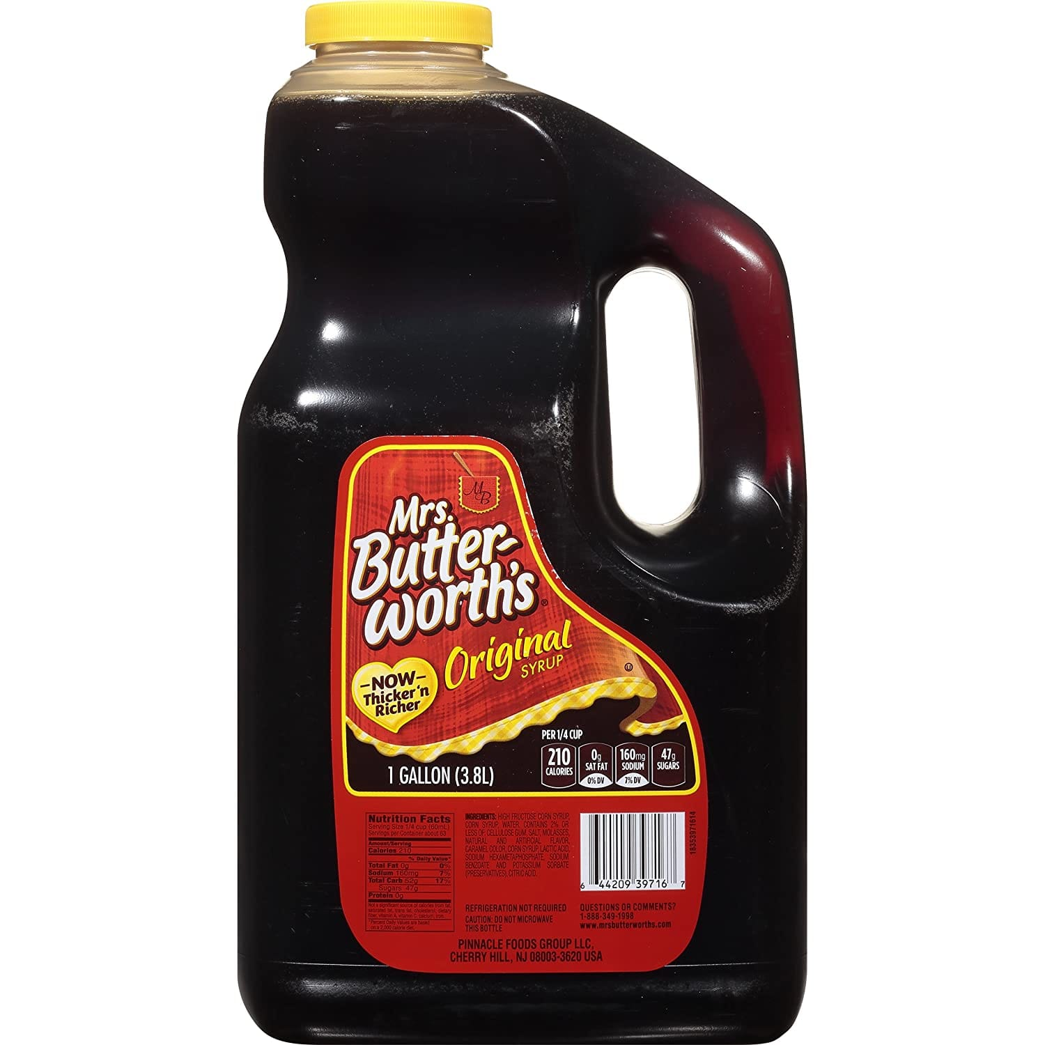 Mrs. Butterworth's Syrup, Original, 1 Gallon as low as $5.80 with 15% S&S $6.82