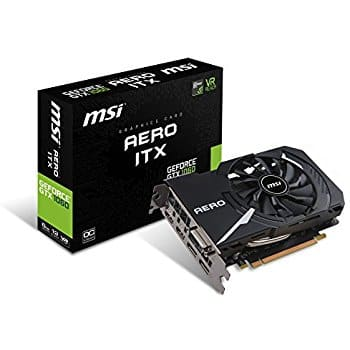 MSI GTX 1060 AERO ITX 6G OC Graphic Card @ Amazon (3rd Party Seller) $309.11 + Free Shipping