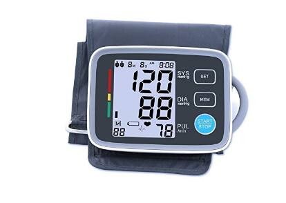 XREXS Automatic Digital Upper Arm Blood Pressure Monitor for $19.59 @Amazon
