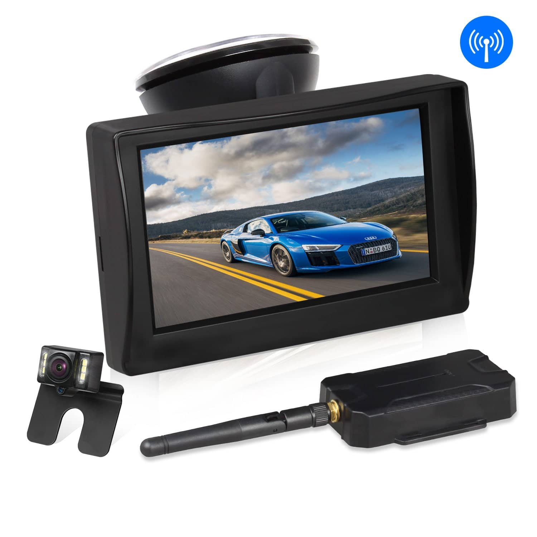 "AUTO VOX W1 Wireless 4.3"" TFT Rear View Backup Car Camera Kit, IP 68 Waterproof - $71.49 @Amazon"