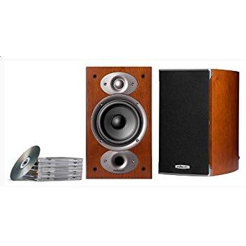 Polk Audio RTI A1 Bookshelf Speakers (Pair, Cherry) $170