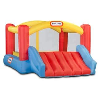 Little Tikes at Target today only 25% off + 25% off (+ 5% off if using red card) Jump n Slide Dry Bouncer $259.99 now $122.37