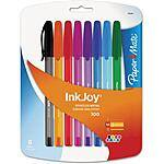 8-Pack Paper Mate InkJoy Medium-Point Colored Ink Pens $2.72@Walmart