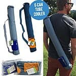 6 Can Tube Cooler - Insulated and Reusable - 1 for $6 or 2 for $10 - SHIPS FREE@ThatDailyDeal