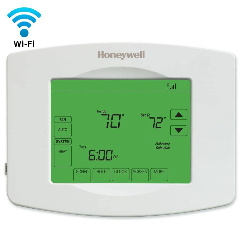 Honeywell Wi-Fi Programmable 7-DayThermostat with Touchscreen ,White(Model: RTH8580WF )for $76.45 @Overstock.com via Google Express app