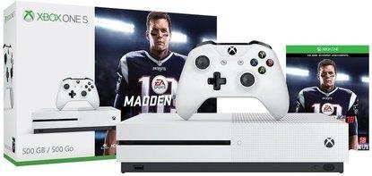 Xbox One S 500GB Console - Madden NFL 18 Bundle $204.95@Rakuten