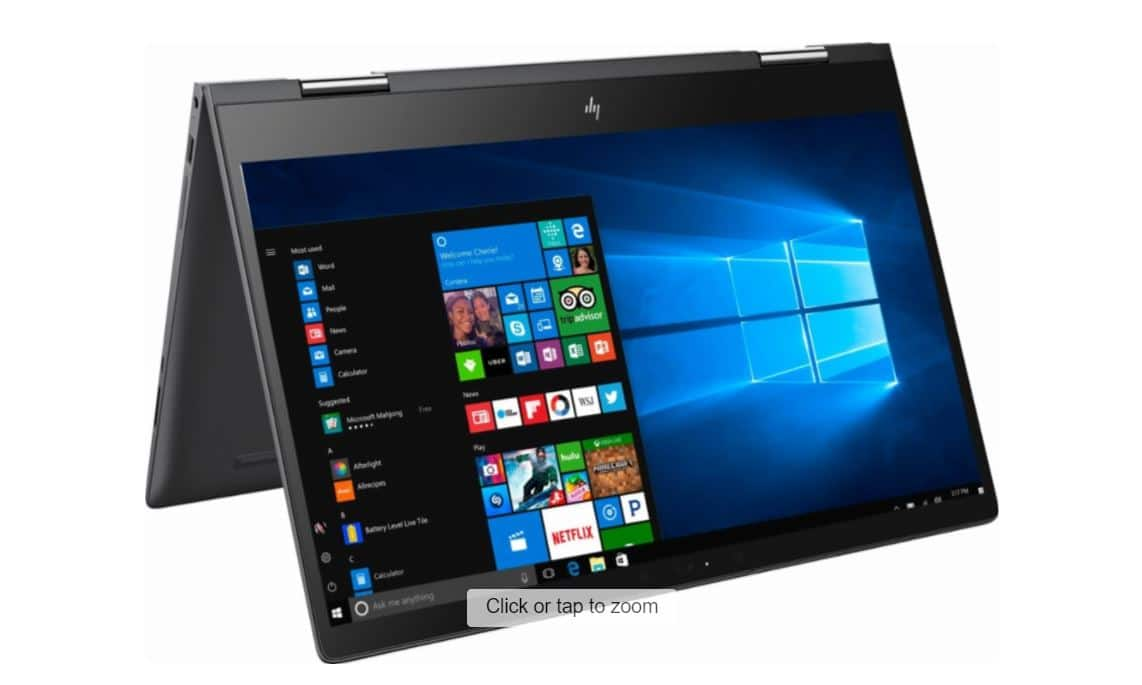 "HP - Envy x360 2-in-1 15.6"" Touch-Screen Laptop - AMD FX - 8GB Memory - AMD Radeon R7 - 1TB Hard Drive  $499.99@ Best Buy with FS"