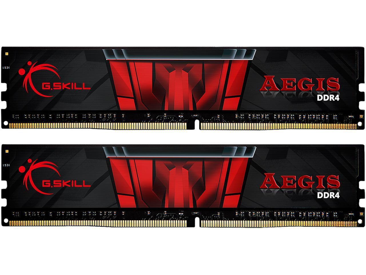 G.SKILL Aegis 16GB (2 x 8GB) 288-Pin DDR4 SDRAM DDR4 3200 (PC4 25600) Memory Kit $54.99