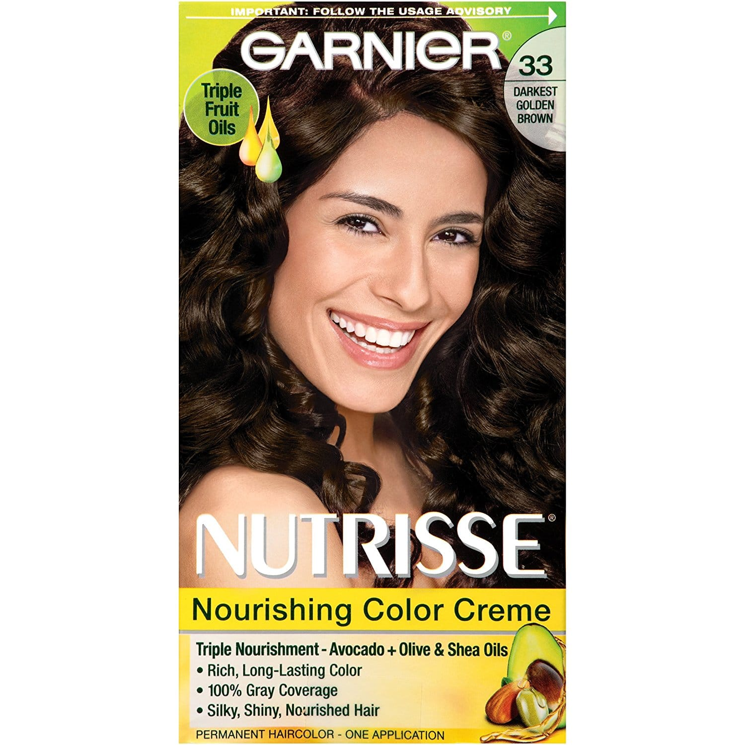 Amazon Add On Garnier Nutrisse Nourishing Hair Color Creme 33