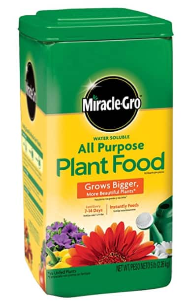 Target.com: Miracle-Gro 1001233 All Purpose Plant Food - 5 Pound - $8.89 Free In-Store pickup
