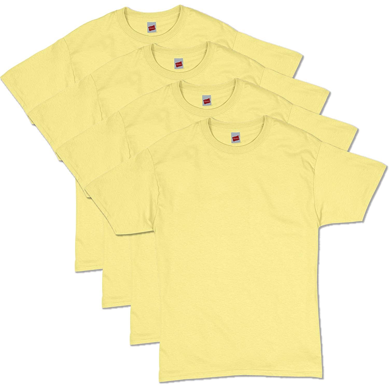 Hanes Men's ComfortSoft Short Sleeve T-Shirt (4 Pack ) - $15.72  - XL
