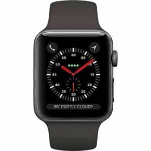 Apple Watch Series 3 10% off with  Wednesday 12.20.17 Promo Code at Fry's Electronics $322.2