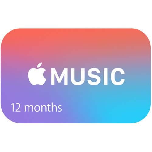 Apple Music 12 Month Subscription - $99