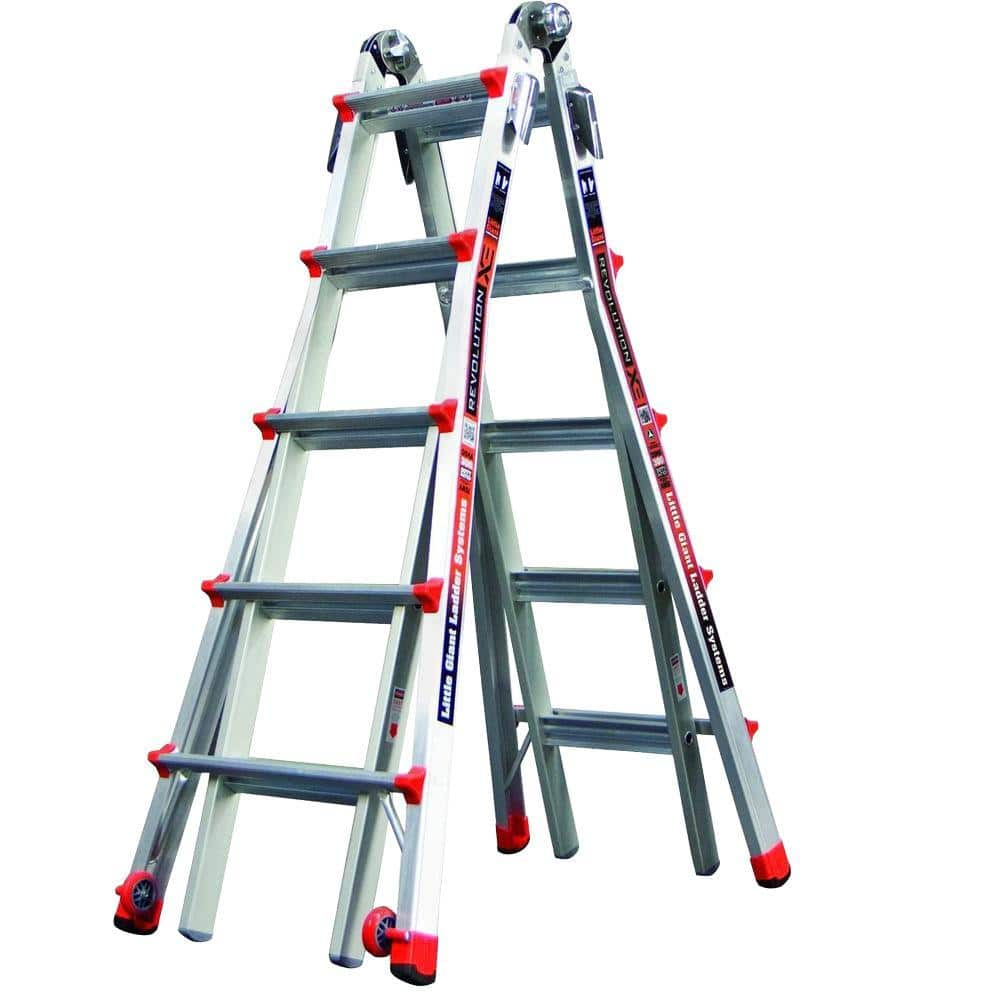 HOMEDEPOT B&M YMMV Werner MT 22 Aluminum Telescoping Multi-Position Ladder with 300 lb. Load Capacity Type IA Duty Rating 74.00 $74