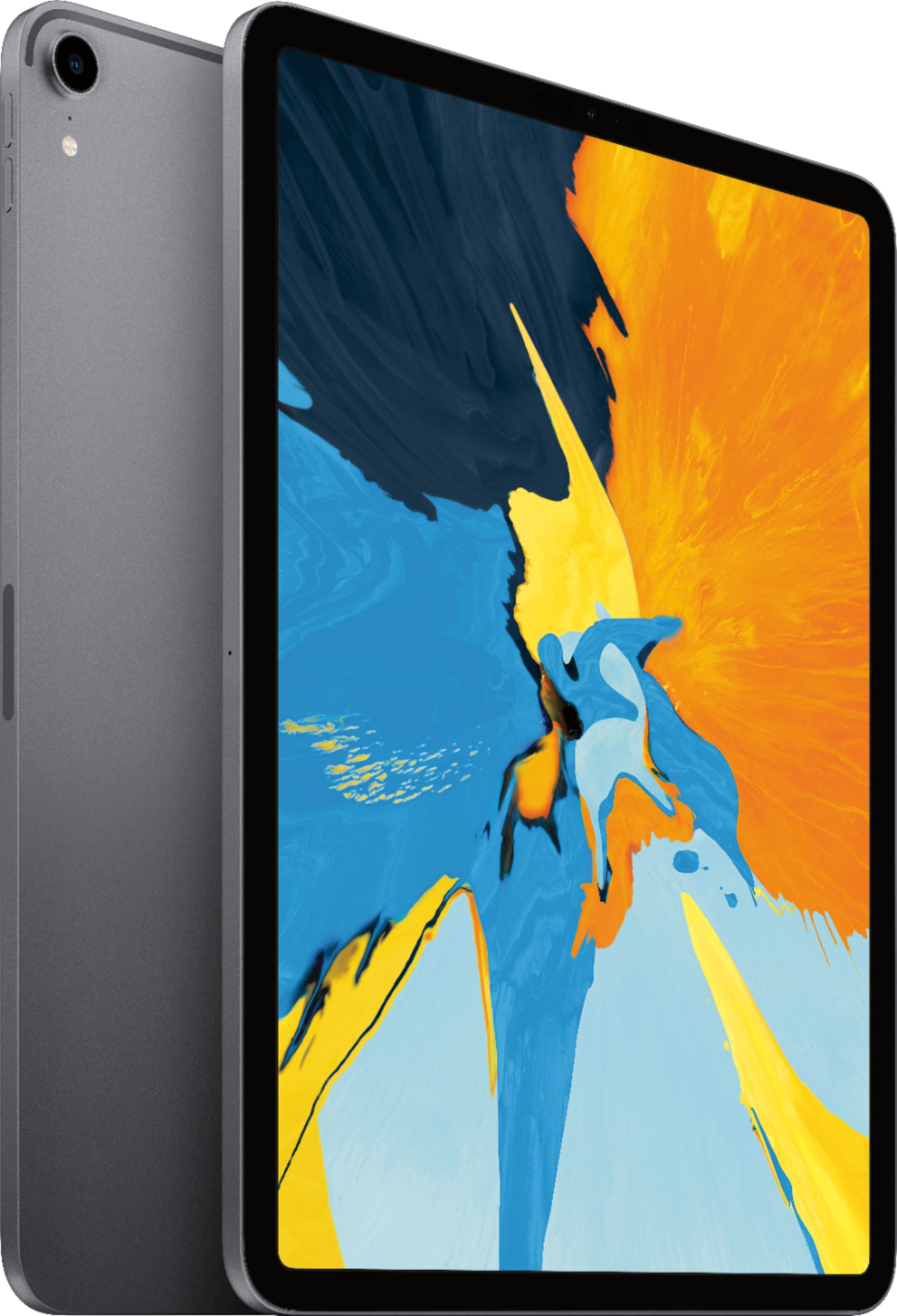 Apple - 11-Inch iPad Pro (Latest Model) with Wi-Fi - 64GB - Space Gray (& 12.9-Inch iPad Pro) $674.99