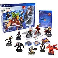 Walmart Deal: Disney Infinity 2.0 Marvel Super Heroes Starter Pack (Various Platforms) + 6 extra Figures $44.96 @ Walmart.  Free Store Pickup or Free Shipping on Orders over $50.