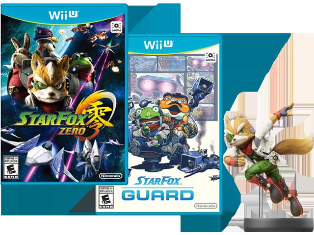 Star Fox Zero + Star Fox Guard + Fox Amiibo $30 at Nintendo Store $29.98
