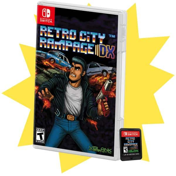 Retro City Rampage DX Standard Edition for Nintendo Switch $30 + Shipping