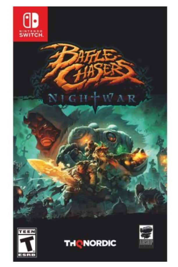 Battle Chasers Nightwar Nintendo Switch $25 at Walmart.com with In-Store Pickup