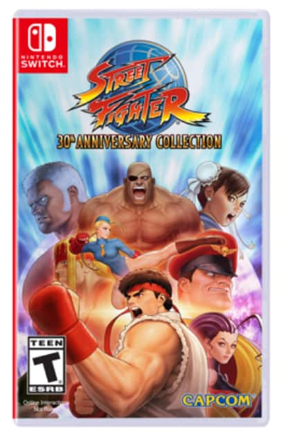 Capcom Street Fighter 30th Anniversary Collection (Nintendo Switch) $20 + Free Store Pickup