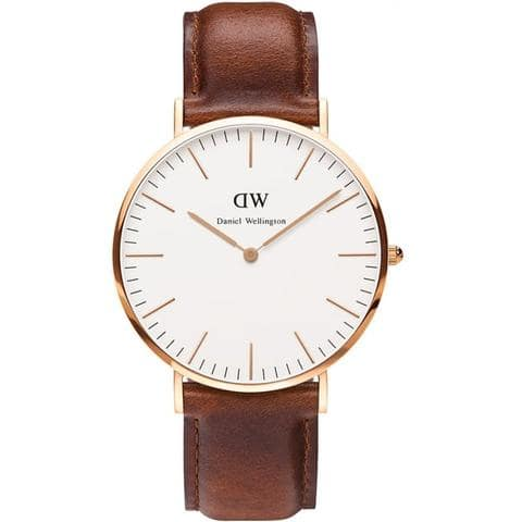 Daniel Wellington Men's St. Mawes 40mm Watch 0106DW -- $99.00 -- Free Shipping