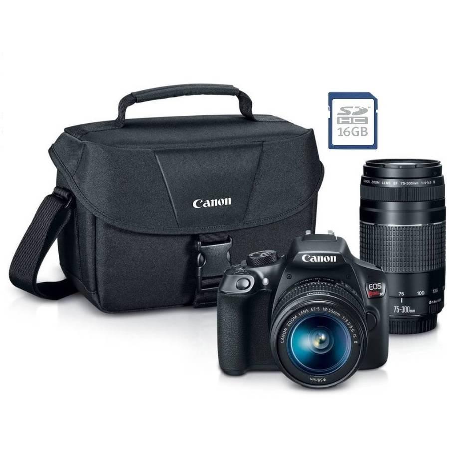 YMMV - Walmart instores: Canon T6 DSLR w/ 18-55mm & 75-300mm Lenses - YMMV - $139