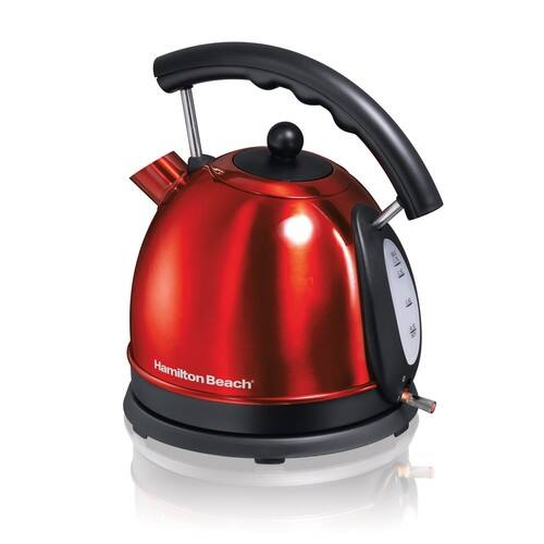 Hamilton Beach 1.7L Stainless Steel Electric Kettle 40894 [Candy Apple Red] - Walmart - B&M - YMMV - 7$