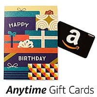 Load $  10 on to an Amazon Anytime Giftcard and get a $  2 promotional credit (multiple uses allowed)