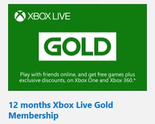 Bing Rewards: 12 Month Xbox Live Membership 29,000 Points, 3 months for 9,600 points
