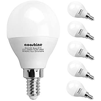 6 Pack, E12 (Candelabra) LED Bulbs (50W Equivalent)  - $11.24 @ Amazon Lightning Deal, Free shipping