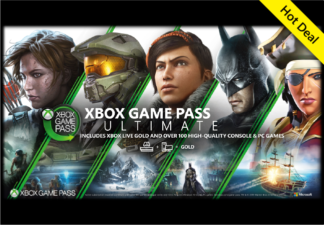 Game Pass Ultimate (Microsoft Rewards) - 1 Month 8,400 points, 3 Month 24,500 points