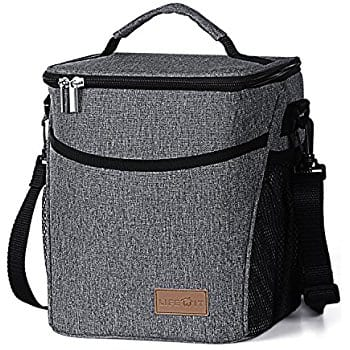 Insulated Lunch Box Lunch Bag for Adults / Women / Men - $14.99, FS with Prime