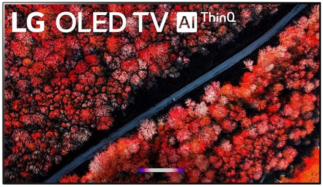 """LG OLED65C9PUW 65"""" 4K HDR Smart AI OLED TV w/ ThinQ - OLED65C9PUW (NO STAND!!) $1599"""