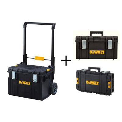 Home Depot: Dewalt Tough System 3-Piece Set DS130 + DS 300 + DS450 $98 YMMV