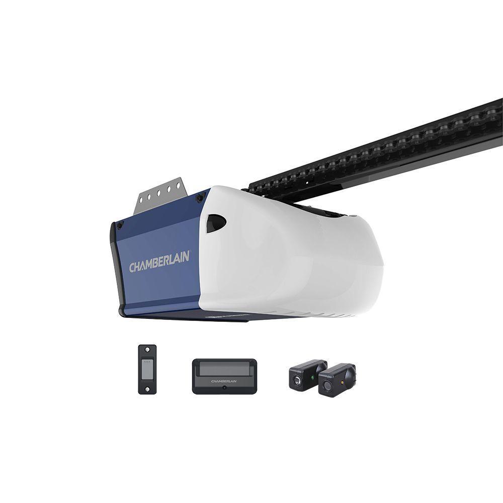 YMMV - Chamberlain 1/2 HP Chain Drive Garage Door Opener HD210 $52