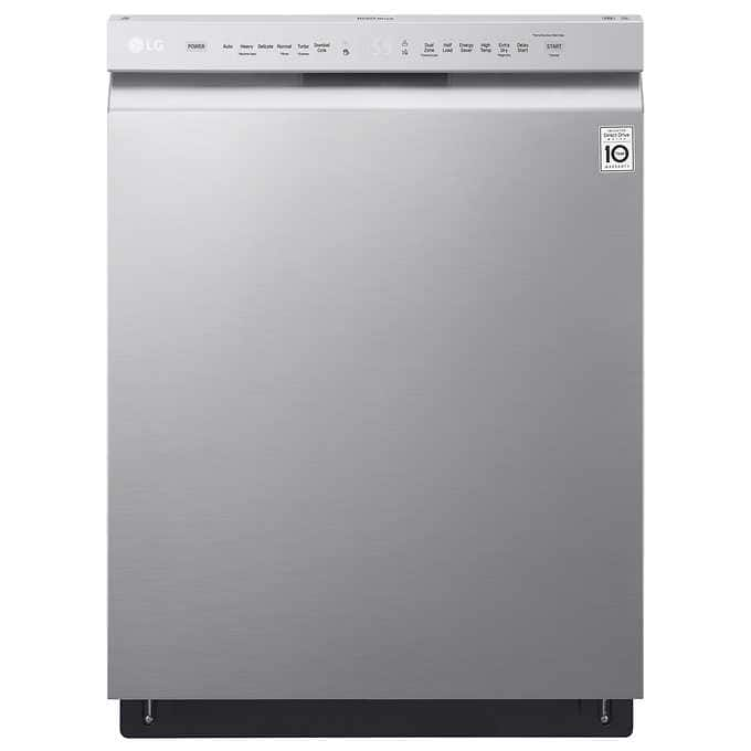 Costco Members: LG Front Control Stainless Steel Dishwasher LDF5545ST, $530 w/ Free Deliver & Basic Install $529.99