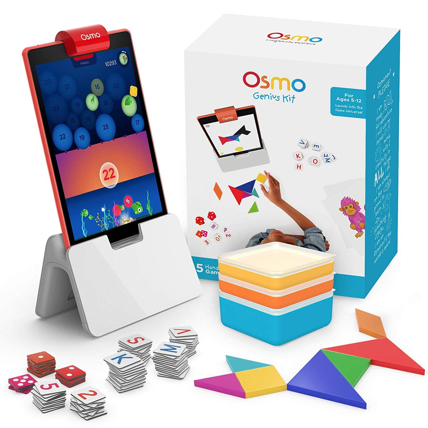 Osmo Genius Kit for Fire Tablet (Amazon Exclusive) $69.99