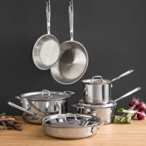All-Clad Copper Core 10 pc cookware set for $630 (with Macy's Credit card)