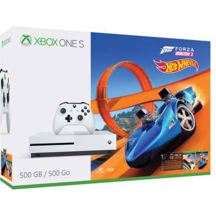 Xbox One S FH3 Hot Wheels/ Madden Bundle $209 Frys Promo Code Required.