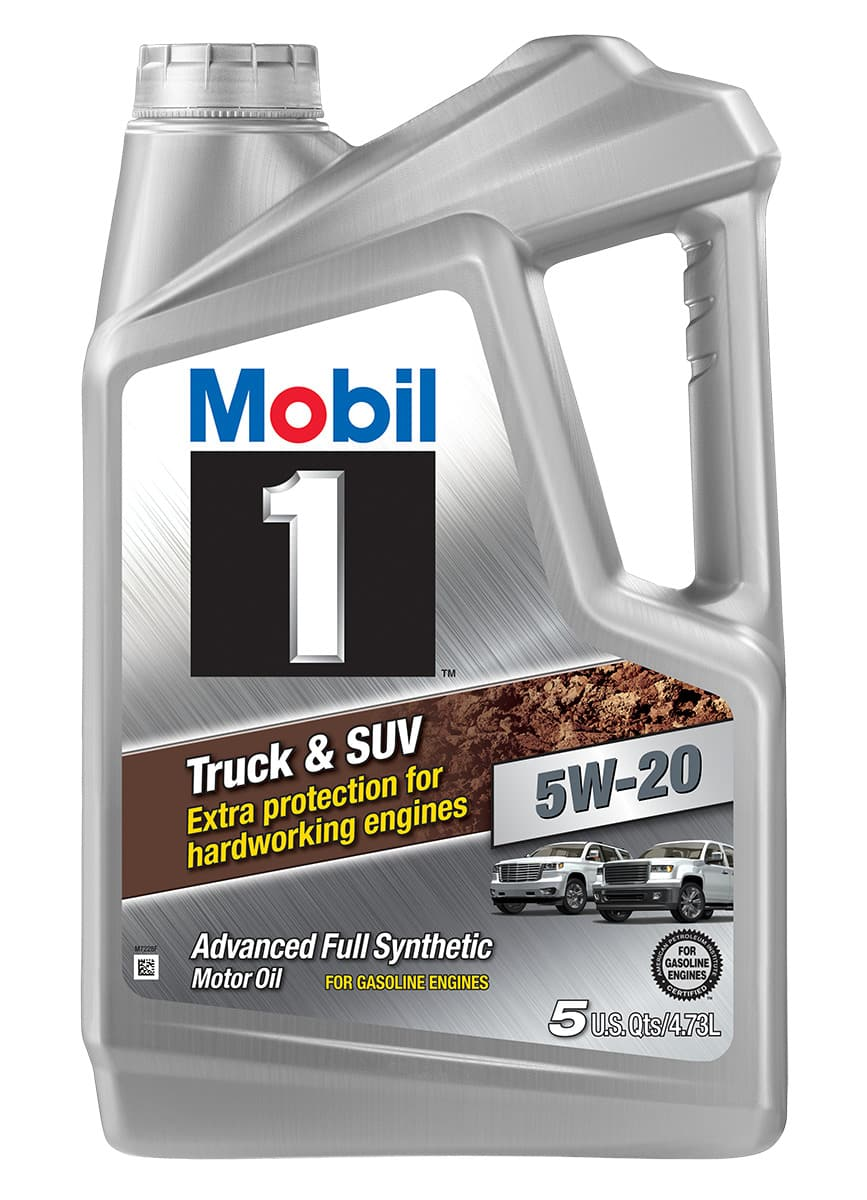5-Quart Mobil One Full Synthetic 5w30 Truck & SUV Motor Oil $14.99 - B&M