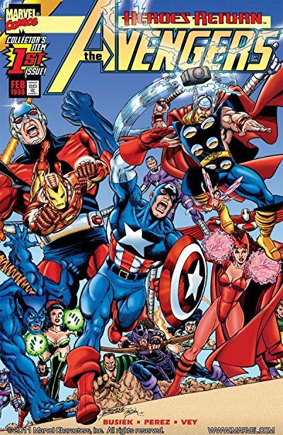 Comixology - FREE Marvel Digital Comics 10/10/17 - Avengers and Thor