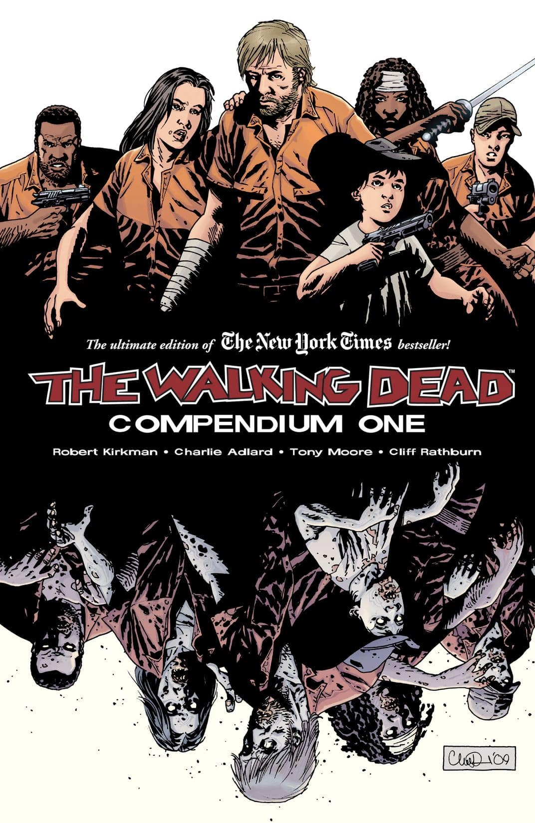 The Walking Dead Compendiums Volumes 1 and 2 $15 each, Volume 3 - $18 - Comixsology/Kindle Digital Comics