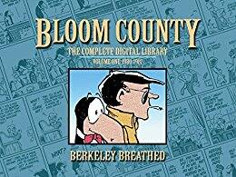 Bloom County Collected Editions - Berke Breathed - Kindle versions $3.60 each Amazon