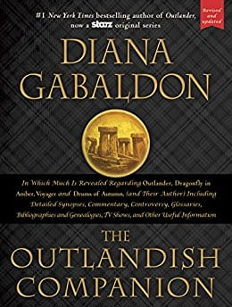 Kindle Outlander book - The Outlandish Companion (Revised and Updated): Companion to Outlander - Diana Gabaldon - $2.99 - Amazon