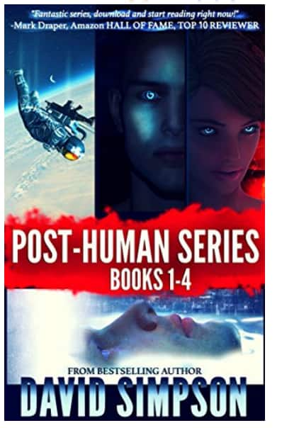 Kindle Free Sci-Fi book Series: Post-Human Books 1-5 by David Simpson (4.3 stars in 2,777 reviews) - Amazon.com