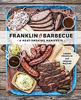 Kindle eBook Cookbook -  Franklin Barbecue by Aaron Franklin- 4.7 stars in 1,433 customer reviews - $2.99 - Amazon and Google Play