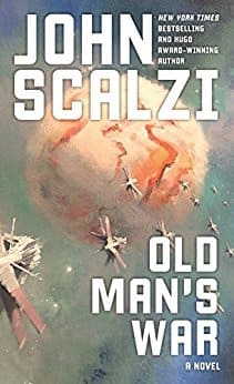 Kindle Sci-Fi Book: Old Man's War by John Scalzi (4.5 stars in 2,385 reviews) - Amazon and Google Play